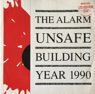 "Alarm (The) ‎- Unsafe Building 1990 (12"") (VG-/VG+)"